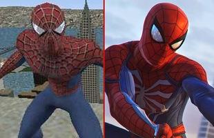 Game về Spider-Man đã thay đổi thế nào qua 14 năm?