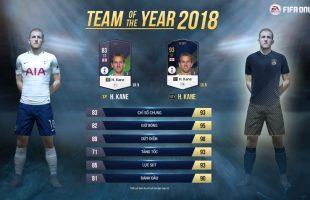 Cùng tìm hiểu về Team of The Year 18 (18TOTY)- Loại thẻ cầu thủ đắt giá nhất trong FIFA Online 4 thời điểm hiện tại