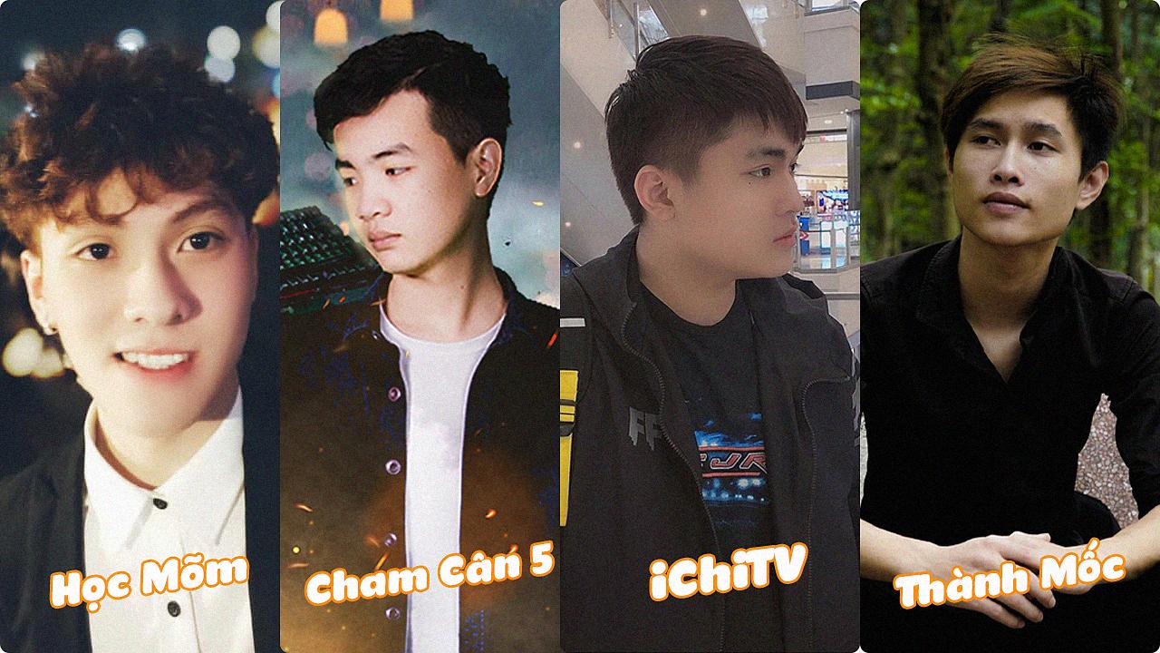 4 chàng trai trẻ vượt khó để trở thành streamer nổi tiếng của làng Free Fire