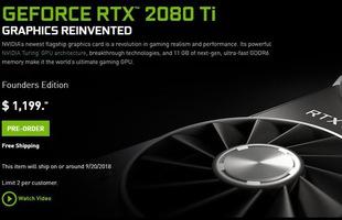 GeForce RTX 2080Ti rất mạnh nhưng mua lúc này cũng chẳng hơn gì GTX 1080Ti đâu