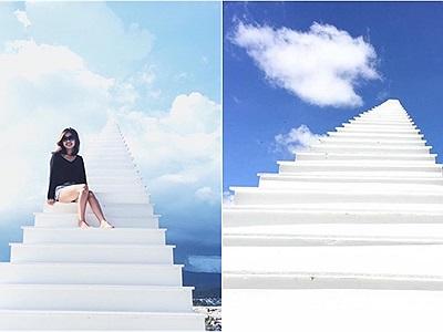 """HOT 1000 độ: Đà Lạt xuất hiện """"Cầu thang vô cực"""" đẹp như nấc thang lên thiên đường"""