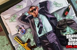 GTA Online chơi sang, bất ngờ tặng không game thủ hơn triệu đô