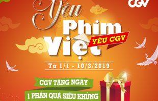 """CGV tặng 5000 vé xem phim Việt cho khán giả với thông điệp """"Hãy cùng xem phim với người phụ nữ bạn yêu thương nhất"""""""