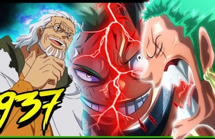 Góc soi mói One Piece 937: Zoro dốc toàn lực, tung haki và sử dụng chiêu thức Quỷ trảm để phản công 2 đối thủ