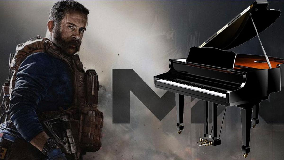 """Call of Duty: Warzone và """"dị nhân"""" thích sử dụng piano để chơi game"""