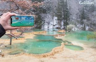 Xuất hiện địa điểm có thật ở ngoài đời, đẹp lung linh giống hệt Genshin Impact