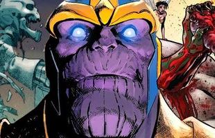 Sau tất cả, Thanos sẽ lật đổ Chúa trời The One Above All để trở thành thực thể hùng mạnh nhất của vũ trụ Marvel