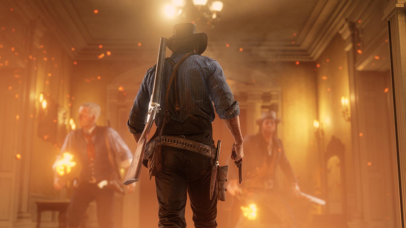 Câu chuyện kì lạ đến mức khó tin trong Red Dead Redemption 2