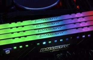 Crucial giới thiệu KIT RAM Ballistix Tactical Tracer RGB đẹp ngất ngây, chuyên phục vụ chiến game