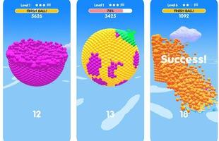 Ball Paint - Tựa game mobile siêu thư giãn xua tan ngày dài mệt mỏi