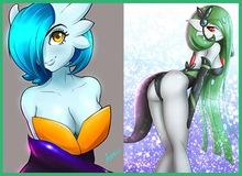 """7 Pokemon sexy nhất và những bản """"fan art"""" 18+ cực kỳ... nóng mắt"""