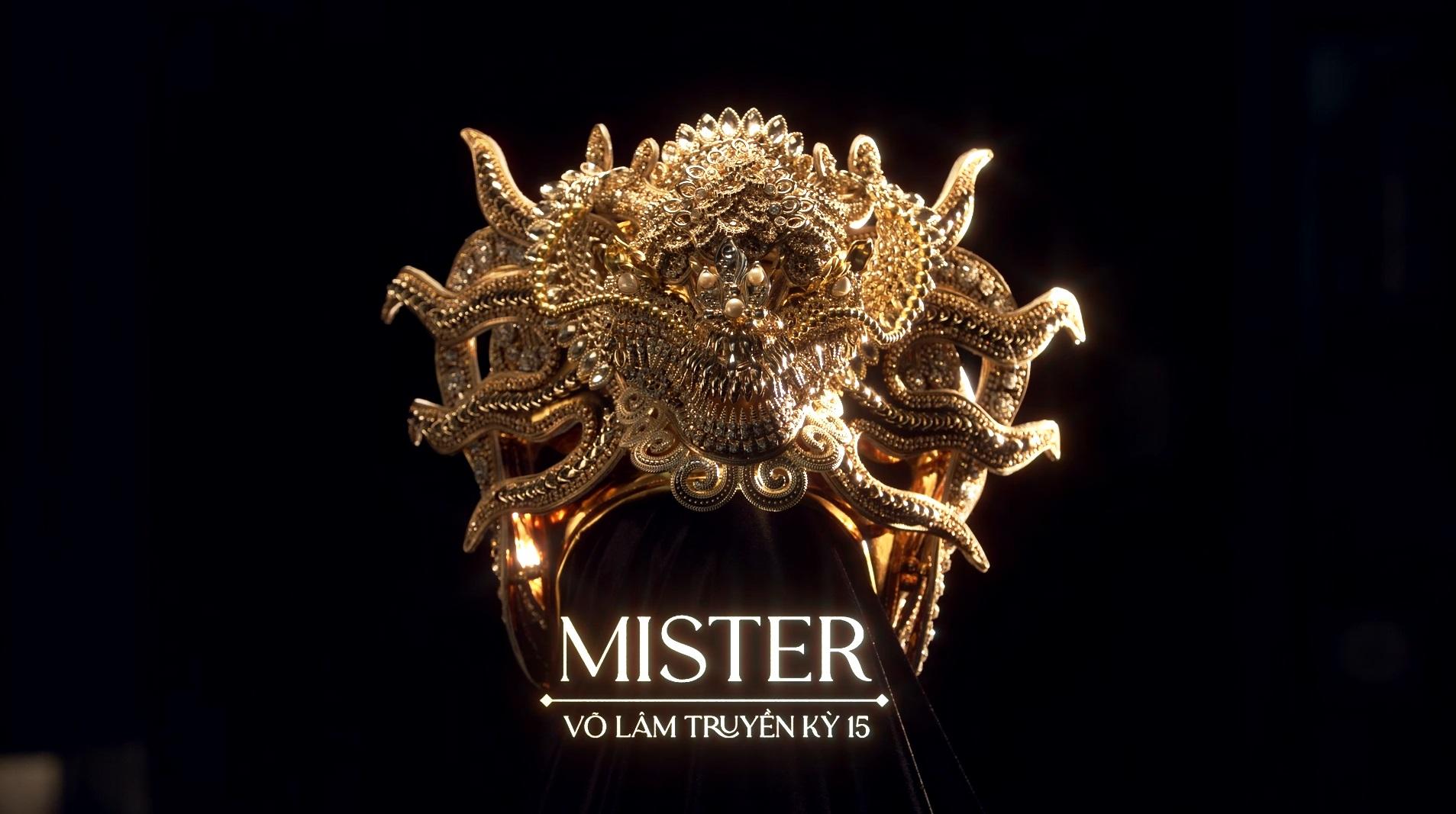 Ngỡ ngàng trước sự kỳ công của Vương miện và Quyền trượng dành cho Quán quân Miss & Mister VLTK 15
