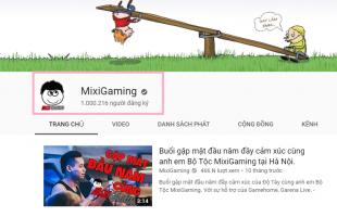 Kênh Youtube của Streamer Độ Mixi chính thức phá vỡ cột mốc 1 triệu người đăng ký
