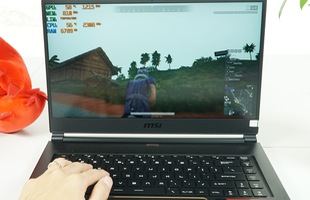Cận cảnh MSI GS65 Stealth 8SE 225VN: Laptop gaming mạnh mẽ nhưng vẫn mỏng như người mẫu