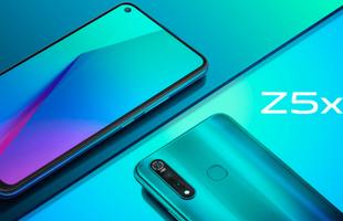 Vivo Z5x ra mắt: Snapdragon 710, 3 camera sau, pin 5000mAh, giá từ 4.7 triệu đồng