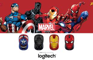 Logitech giới thiệu bộ chuột siêu anh hùng Marvel độc đáo tại Việt Nam
