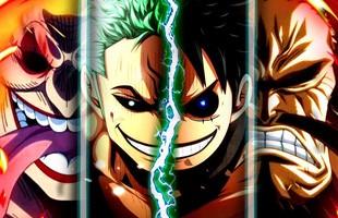 """One Piece: 5 nhân vật tiềm năng có thể """"đả thương"""" được Tứ Hoàng Kaido trong trận đại chiến tại Wano sắp tới"""