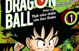 """Dragon Ball full color: Ấn phẩm truyện tranh màu """"chất như nước cất"""" ai cũng nên sưu tầm!"""