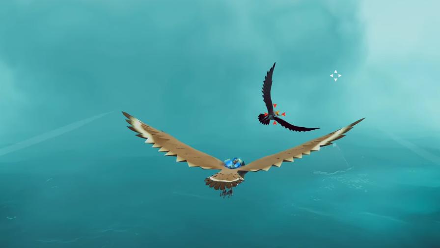 The Falconeer tung bay thỏa thích trên bầu trời rộng lớn
