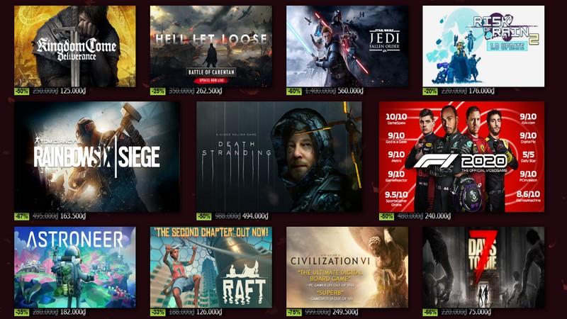 """Steam Autumn Sale – """"Black Friday"""" của game bản quyền mở màn với hàng loạt game hay giá hời"""