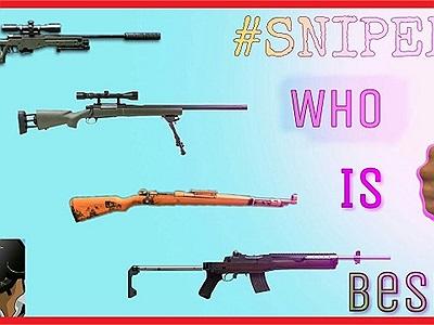 Top súng Sniper được cao thủ PUBG Mobile dùng nhiều nhất