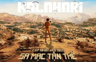 Free Fire ra mắt bản đồ đảo sa mạc Kalahari, ra mắt nhân vật Kelly mới
