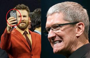 """Chris Evans bị Apple """"cấm cửa"""" sử dụng iPhone vì lý do """"thượng đẳng"""" này"""