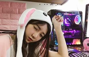 Ngắm góc chơi game cực đẹp của nữ streamer Lê Hoàng Thảo Nguyên