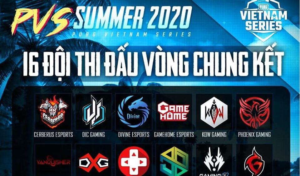 Vòng chung kết PUBG Vietnam Series Summer 2020 chính thức bắt đầu
