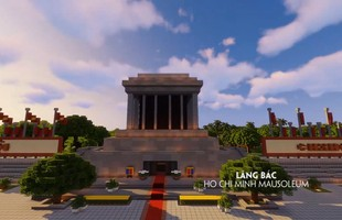 Tự hào game thủ: Đưa các công trình nổi tiếng của Việt Nam vào Minecraft