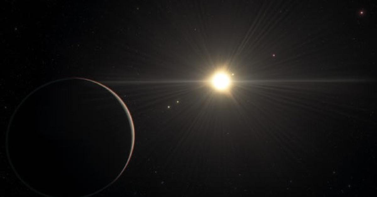 """Kinh ngạc """"hệ mặt trời"""" đẹp nhất vũ trụ, có hành tinh giống Trái Đất"""