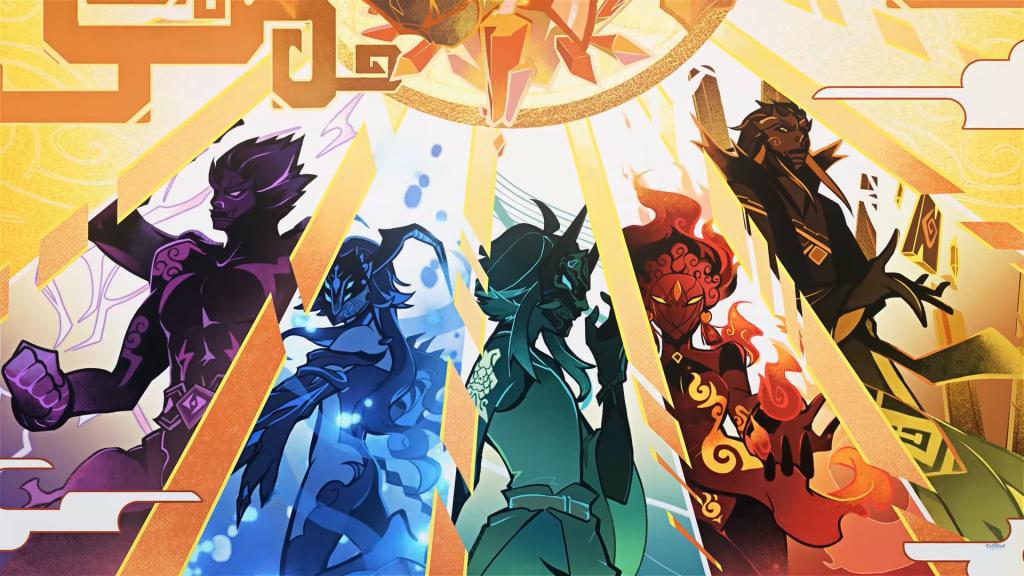 Genshin Impact: Truyền thuyết về Ngũ Hộ Pháp Dạ Xoa