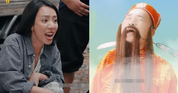 """Thu Trang rủ cả xóm đóng Ròm ở Chuyện Xóm Tui 2 tập 1: """"Chơi đề"""" đến tiền mất tật mang, bị """"ông thần"""" Tiến Luật cười ha hả vào mặt!"""