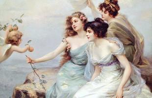Khám phá những vị thần tình yêu trong thần thoại mà ai cũng ước là có thật