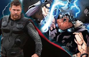 """Hé lộ tên chính thức của """"Thor bụng bia"""" trong Avengers: Endgame"""