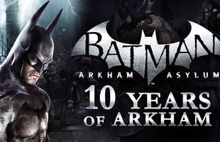 Nhân kỷ niệm 10 năm Batman Arkham ra đời, Rocksteady Studios gửi thông điệp cảm ơn đến game thủ