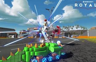"""Xuất hiện game """"PUBG đua xe xếp hình"""" siêu độc đáo: Robocraft Royale"""