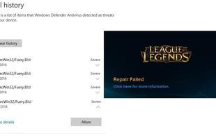 Game thủ LMHT lại được phen hoang mang khi phát hiện file độc hại ngay trong bản cài đặt game