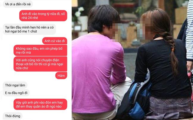 Dân mạng không nhịn được cười khi đọc tin nhắn thân mật như vợ chồng của đôi bạn hẹn hò buổi đầu tiên