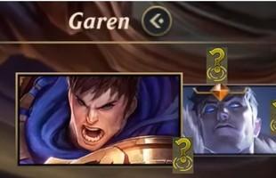 Game thủ tinh mắt soi được skin Tối Thượng của Garen trong video giới thiệu lối chơi LMHT: Tốc Chiến