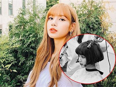 """""""Nín thở"""" trước khoảnh khắc Lisa (BLACKPINK) cắt phăng mái tóc dài """"thương hiệu"""" bấy lâu nay"""