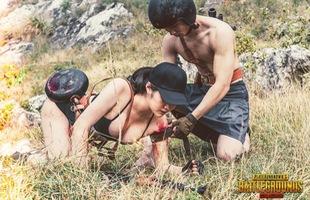 Chết ngất với bộ ảnh cưới PUBG của cặp đôi game thủ Việt, đẹp không thể tả