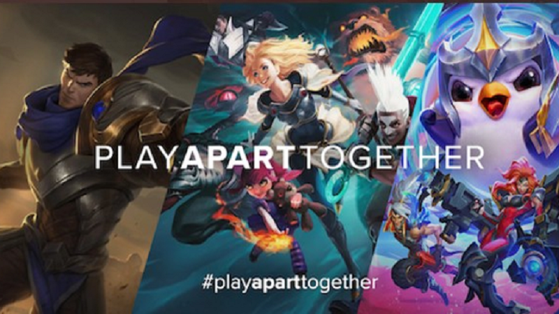 PlayApartTogether- chơi game để chống dịch COVID-19