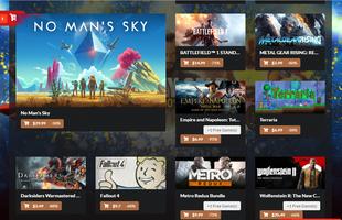 Xuất hiện thêm một cổng phát hành game mới, khuyến mại nhiều như mưa