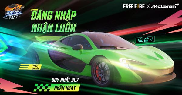 Game thủ Free Fire sẽ được nhận ngay quà độc quyền vĩnh viễn từ sự kiện mới với McLaren