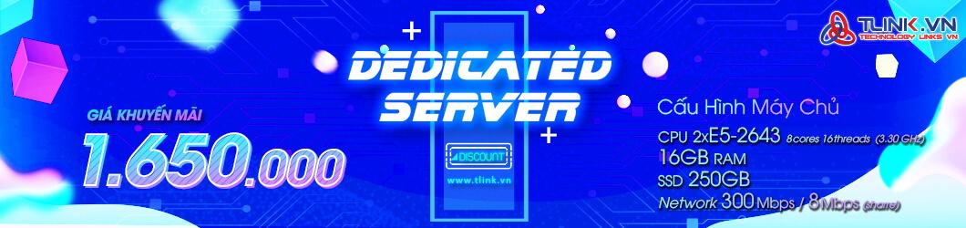 Thuê Server Giá Chỉ 1.650.000Đ / Tháng !!